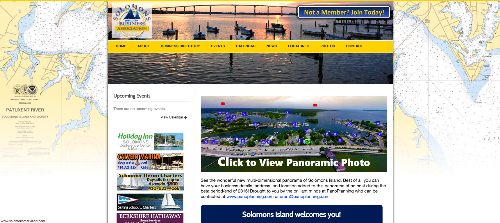 Solomons Business Association Website