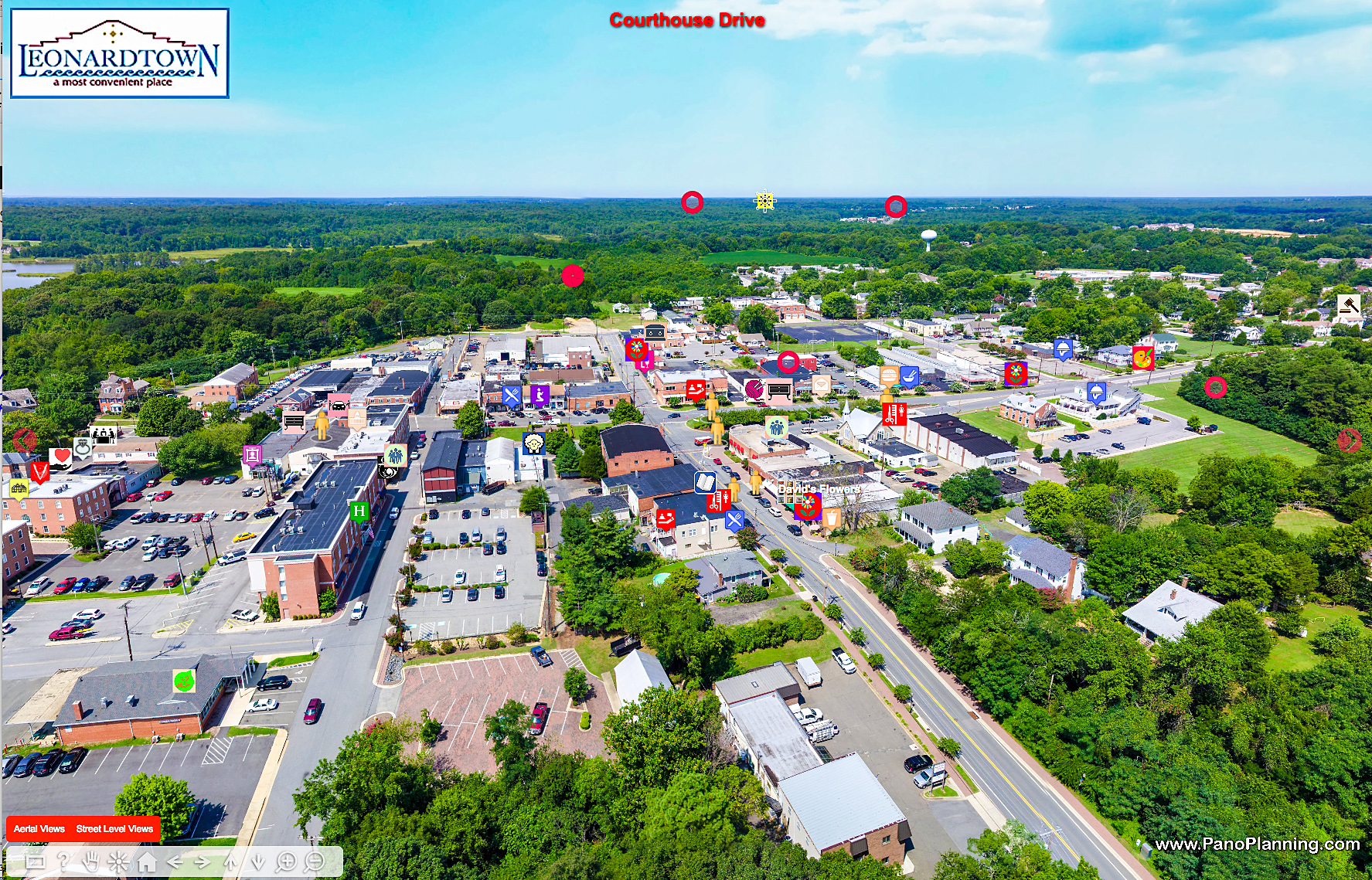 PanoPlanning's Virtual Discovery Tour of Leonardtown, MD.